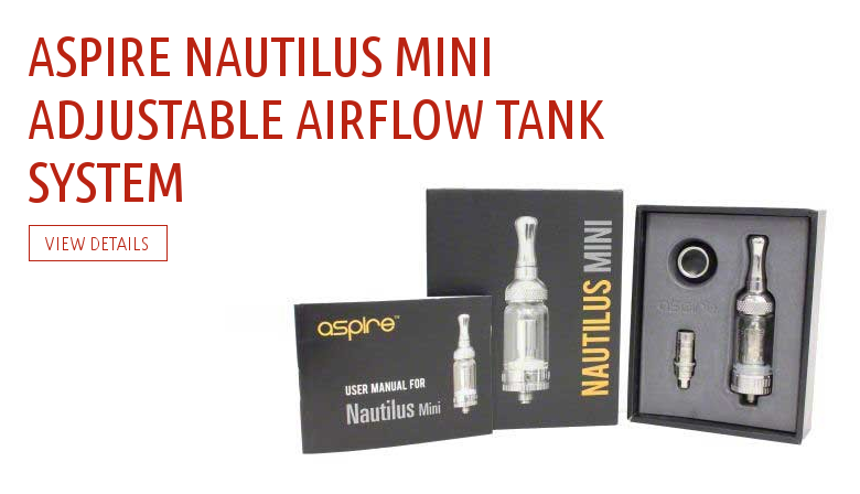 Aspire Nautilus Mini Adjustable Airflow Tank System